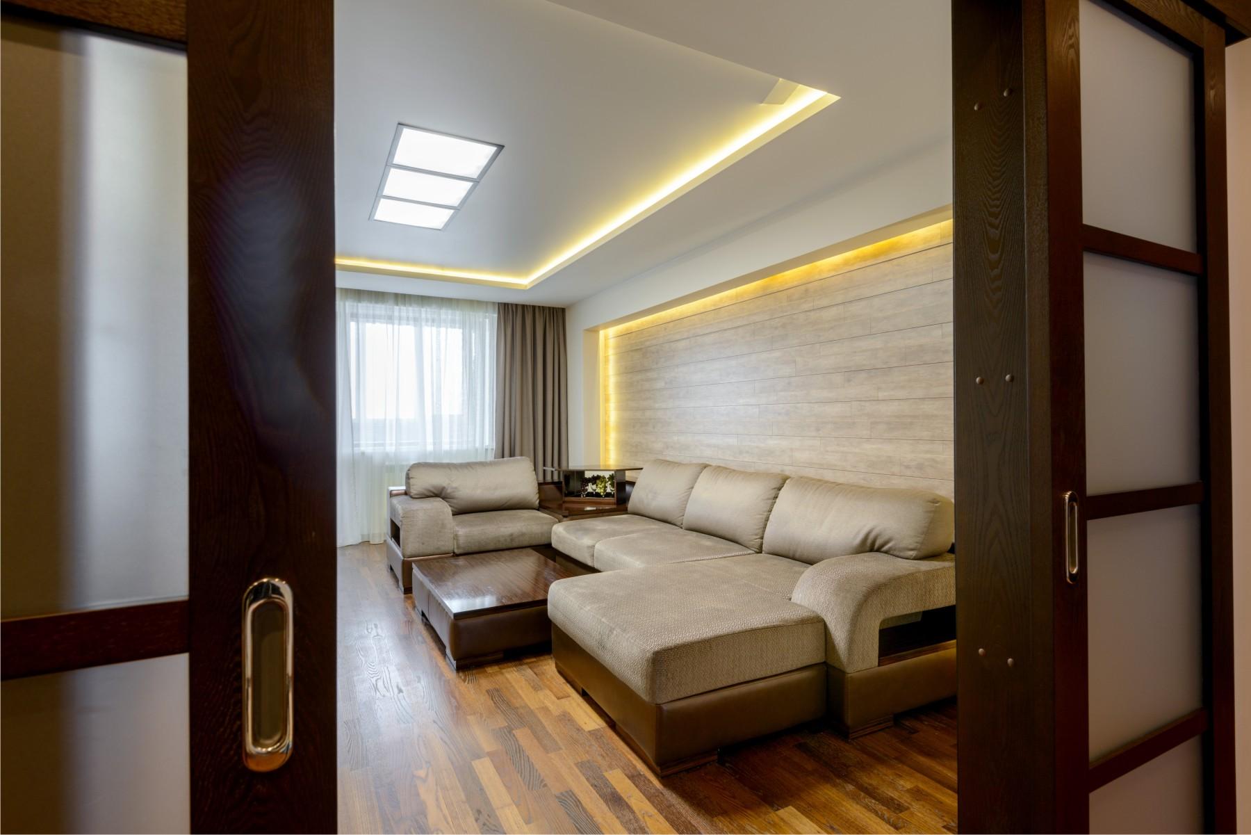 Дизайн квартиры в венге